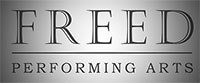 Freed Preforming Arts Retina Logo